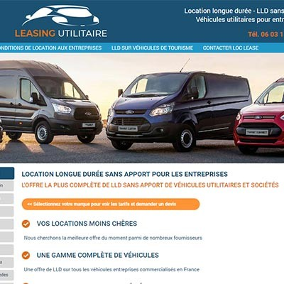 Leasing utilitaire, LLD utilitaires