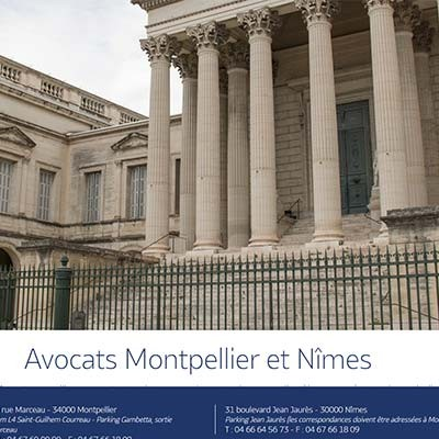 Avocats Montpellier