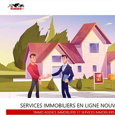 Agence Immobilère low cost Timmo